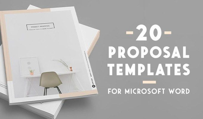 20 Creative Business Proposal Templates You Won't Believe Are ...