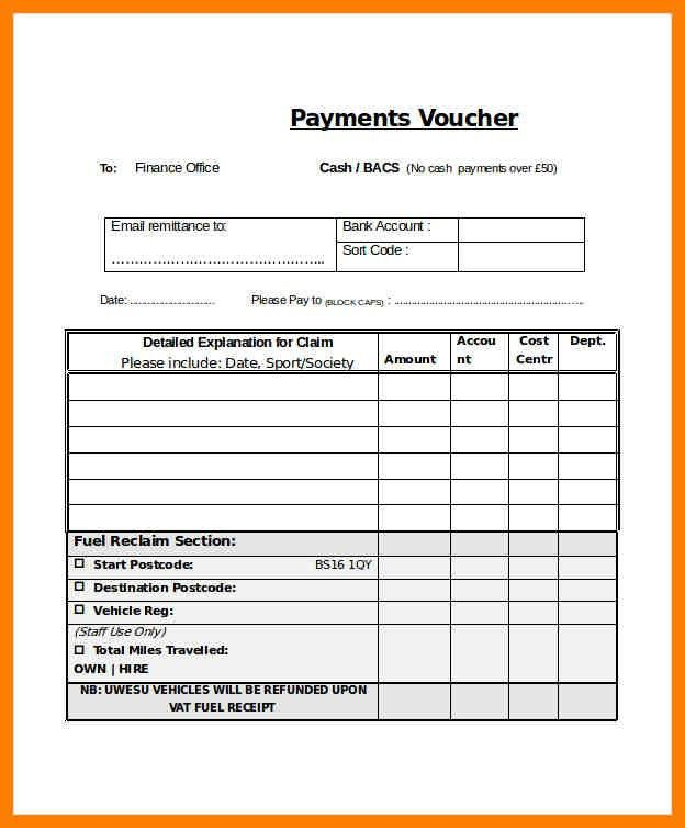Payment Vouchers Template. Receipt Voucher In Tallyerp 9, Erp ...