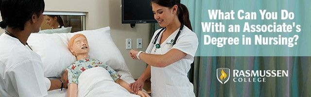 What Can You Do With an Associate Degree in Nursing?