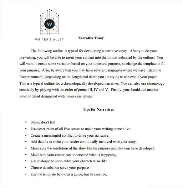 Essay Outline Template - 25+ Free Sample, Example, Format | Free ...