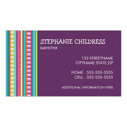 Sitting Business Card Templates | BizCardStudio