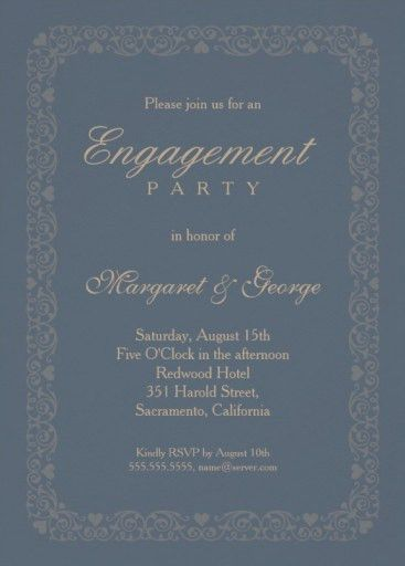 engagement invitation template Archives - Page 2 of 3 ...