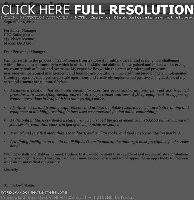Federal Resume Cover Letter] Cover Letter Builder The Resume ...