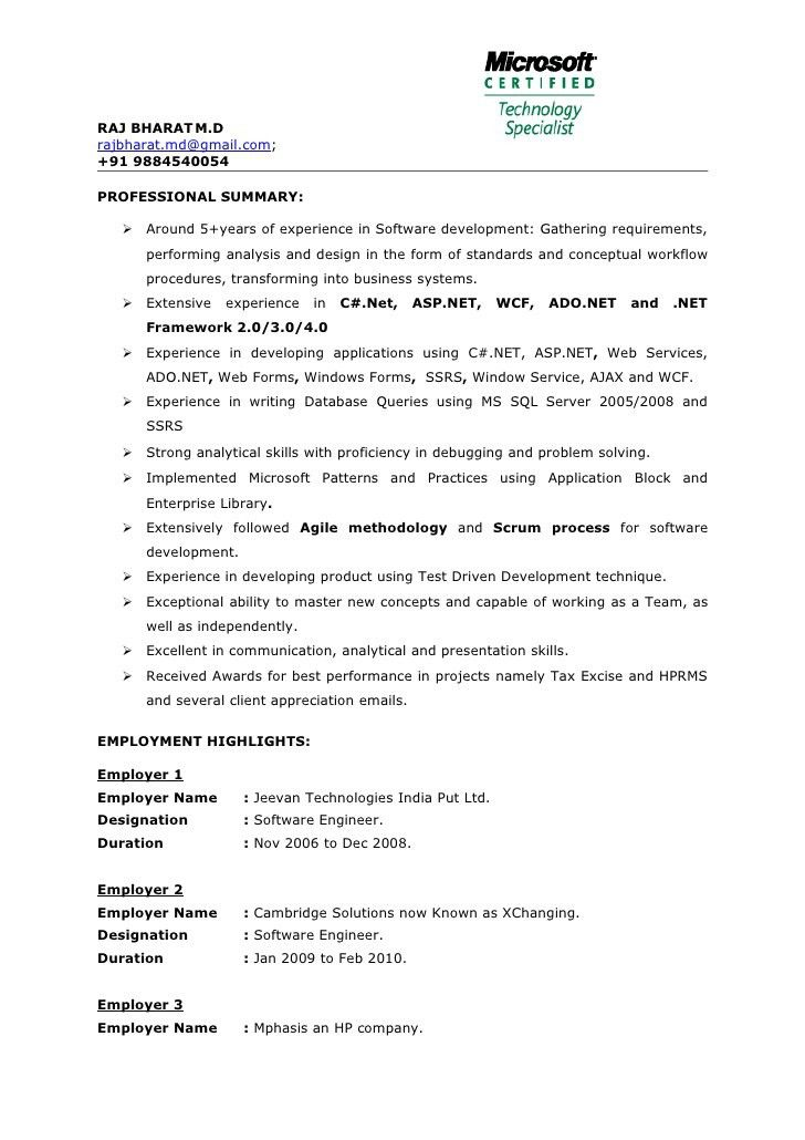 Inspiring C Developer Resume 93 About Remodel How To Make A Resume ...