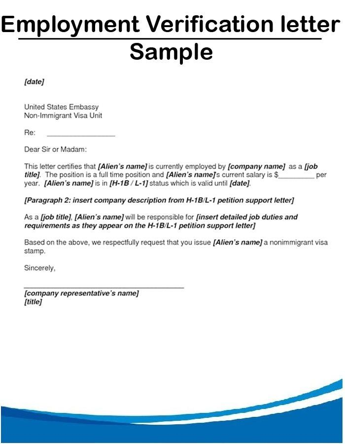 Sample Employment Verification Letter | custom-college-papers