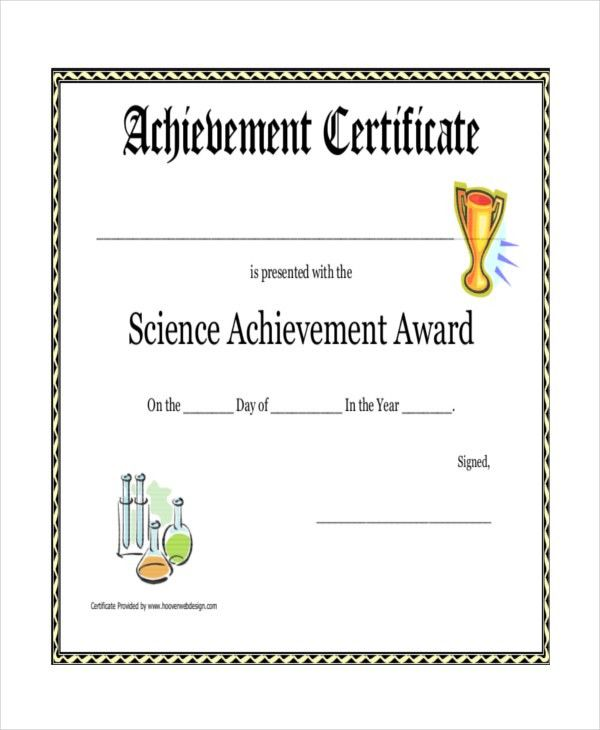 Printable achievement certificates best 25 certificate of printable certificate template 21 free word pdf documents pronofoot35fo Gallery