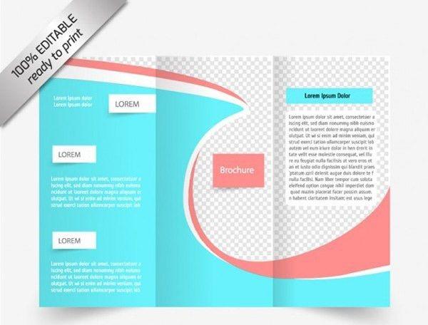 free online tri fold brochure template - Template