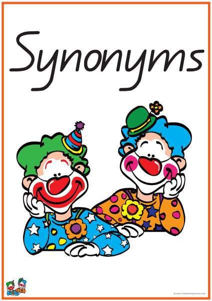 40 Pairs of Synonyms