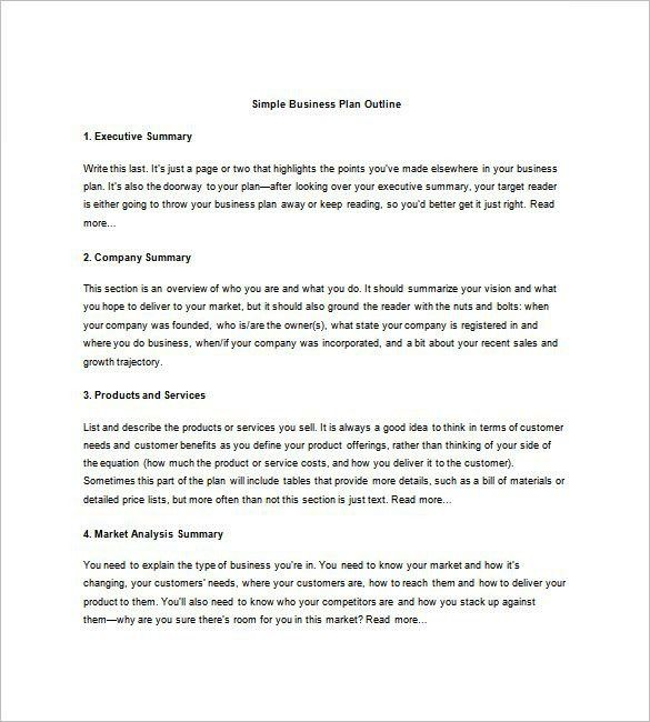 Business Summary Template. Executive Summary Template Example ...