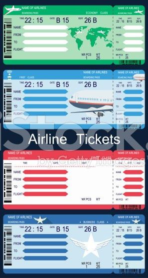 Boarding Pass Templates for Invitations & Gifts
