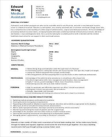 Captivating Sample Entry Level Medical Resume   6+ Examples In Word, PDF