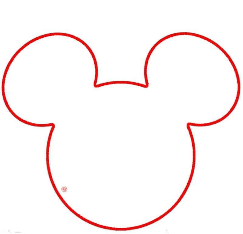 Printable Mickey Mouse Ears Template | Free Download Clip Art ...