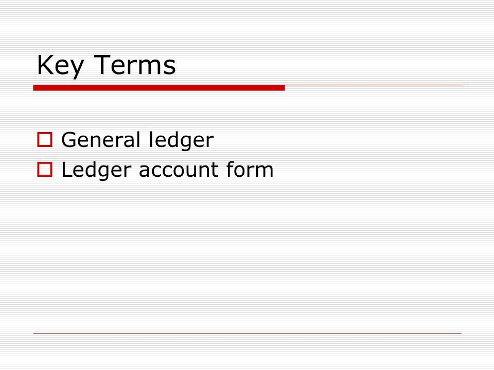 Posting Journal Entries to General Ledger Accounts - ppt video ...
