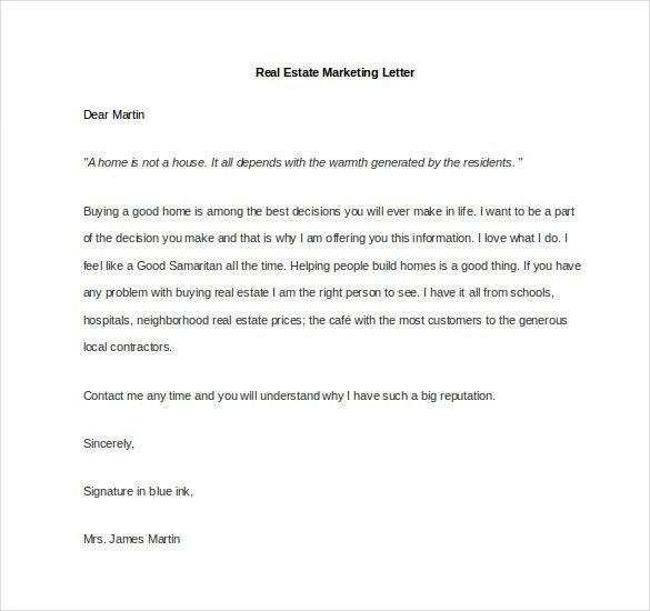 Marketing Letter Template - 38+ Free Word, Excel PDF Documents ...
