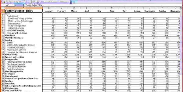 Small Business Spreadsheet For Income And Expenses Accounting ...