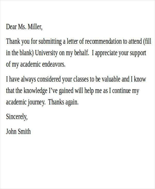 27+ Recommendation Letter Examples
