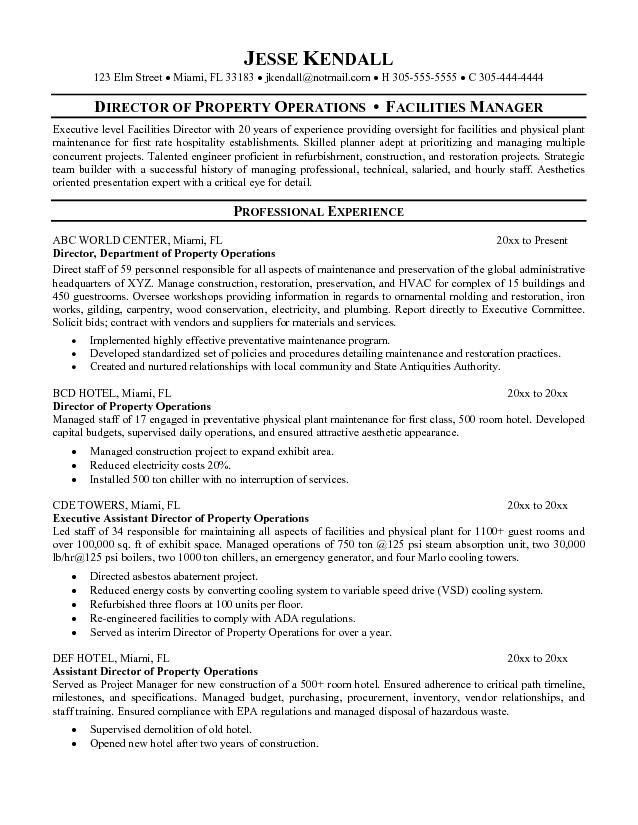 director of operations cover letter assistant operations manager - Director Of Operations Resume
