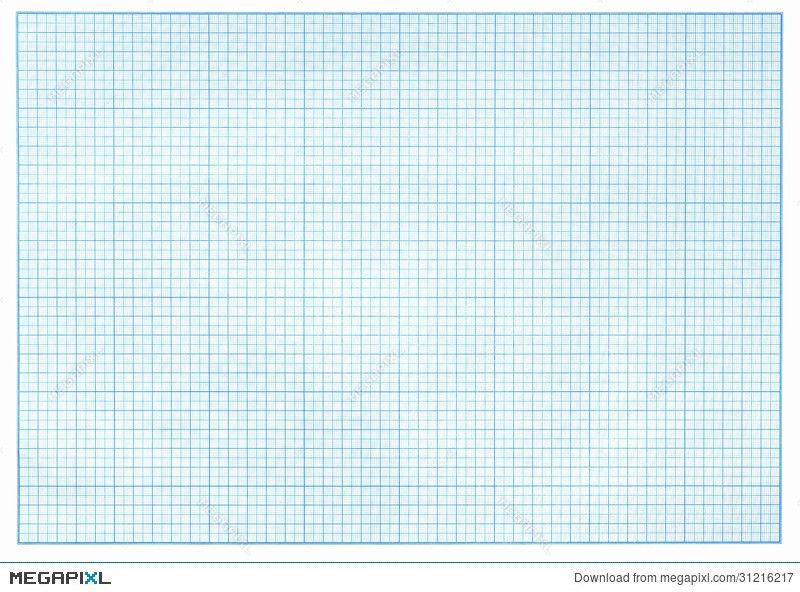 Millimeter Blue Graph Paper Illustration 31216217 - Megapixl