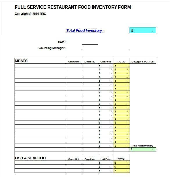 15+ Product Inventory Templates – Free Sample, Example, Format ...
