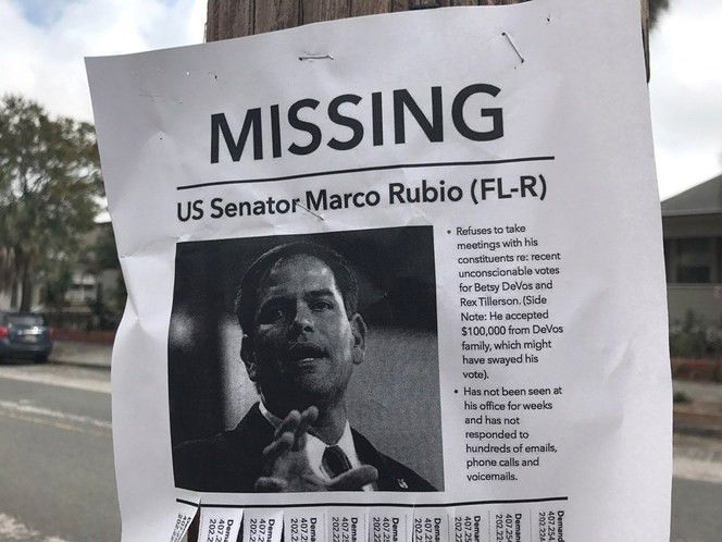 UPDATED: Someone is putting up missing person fliers for Marco ...