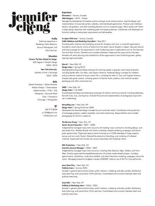 Designer Resume Examples - Best Resume Collection