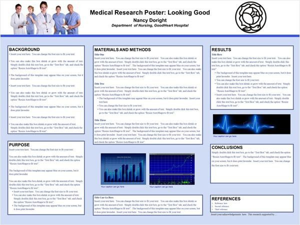 Scientific Poster Design and Layout | Fonts, Colors, Contrasts ...