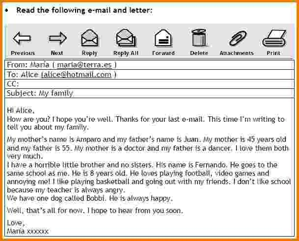 9+ formal emails english examples | Financial Statement Form