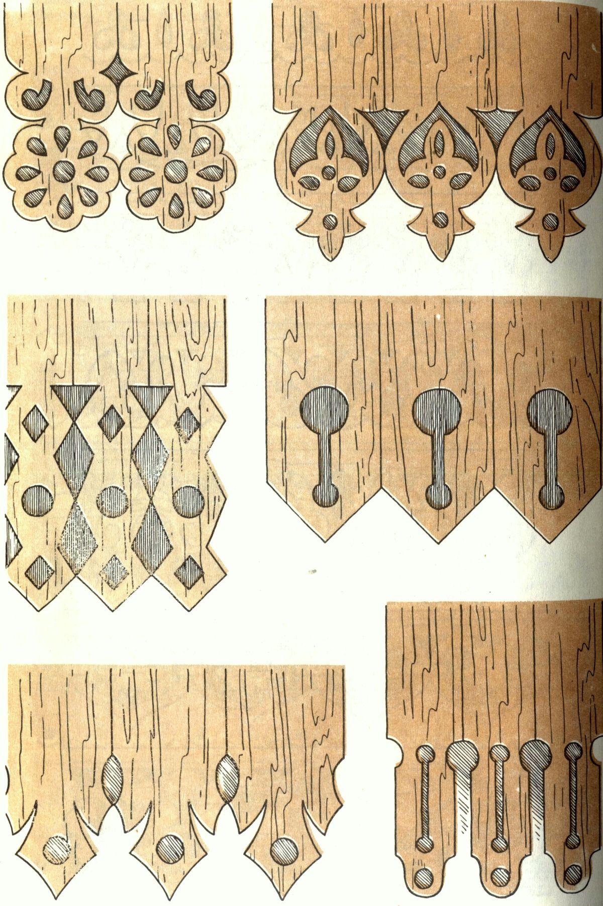 Деревянный орнамент своими руками