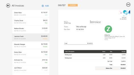Get Zoho Invoice - Microsoft Store