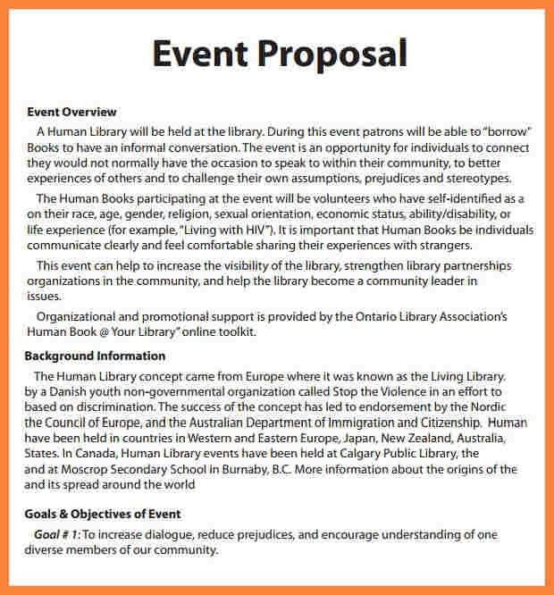 6+ event proposal wedding   Bussines Proposal 2017