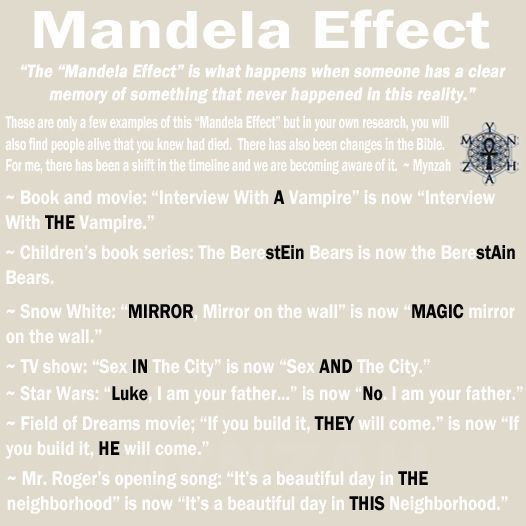 Best 25+ Cern mandela effect ideas on Pinterest | Mandela affect ...