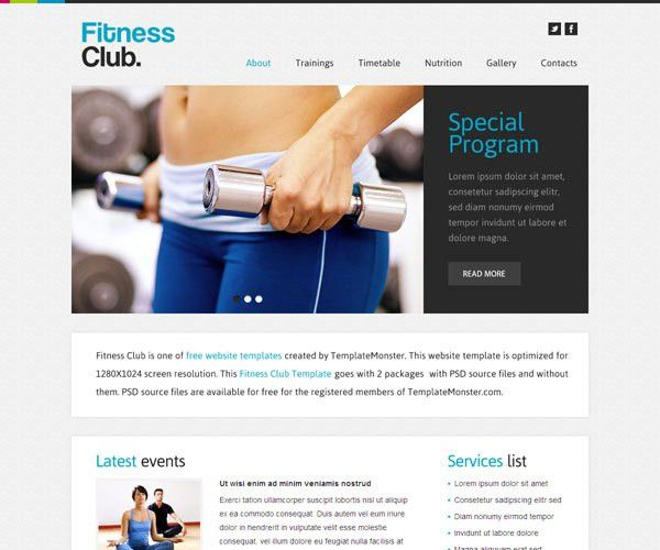 45+ Mindblowing Fitness GYM Website Templates