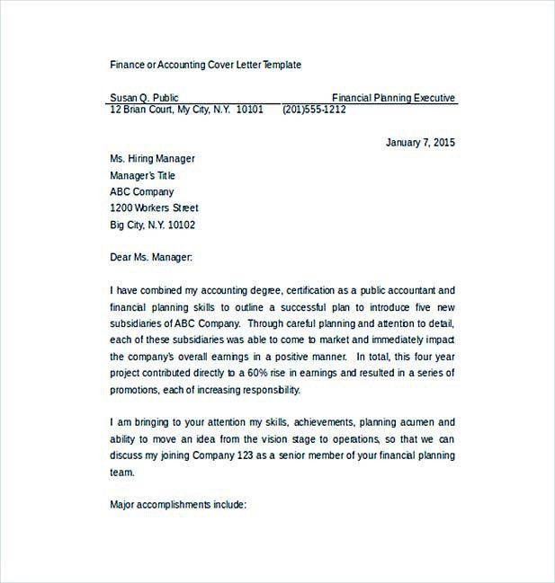 Create a Convincing Professional Cover Letter