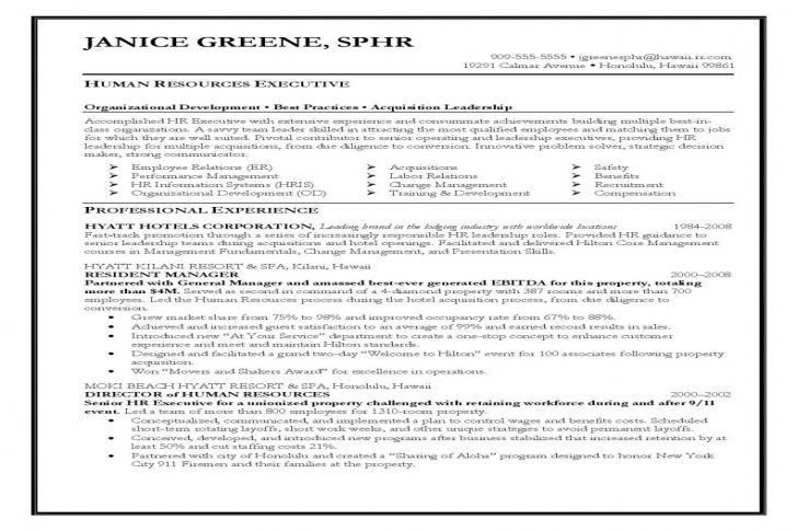 Hr Executive Resume Samples   Research Plan Example