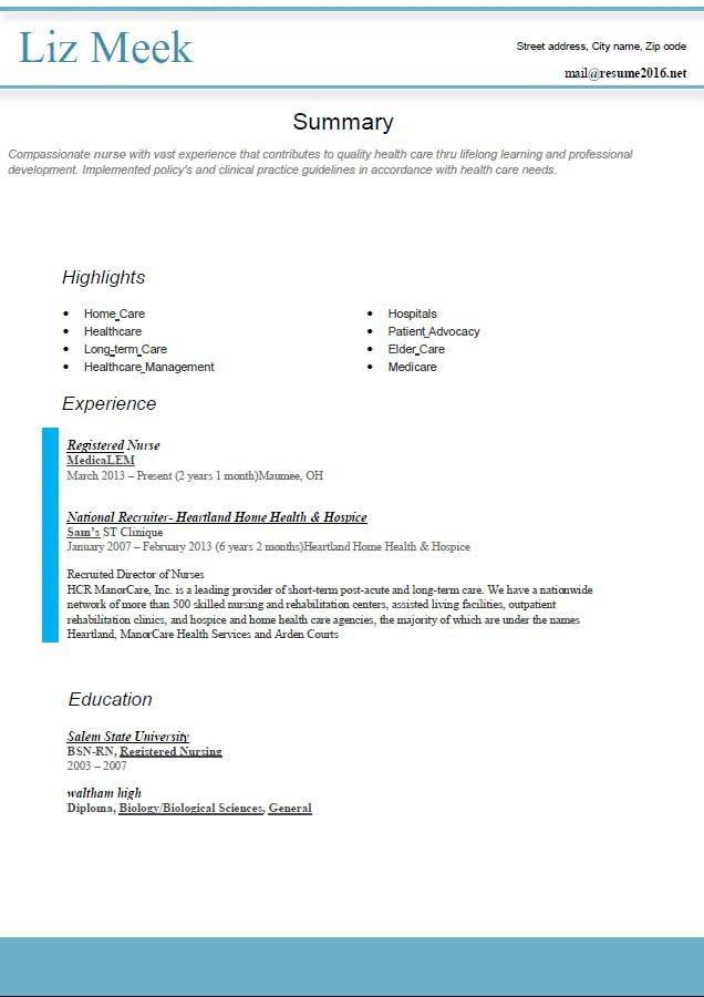 Best Resume Format For 2014 | Professional resumes sample online