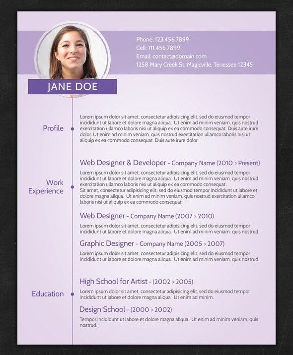 Resume Samples Pdf Curriculum Vitae Samples Pdf Template 2016 ...