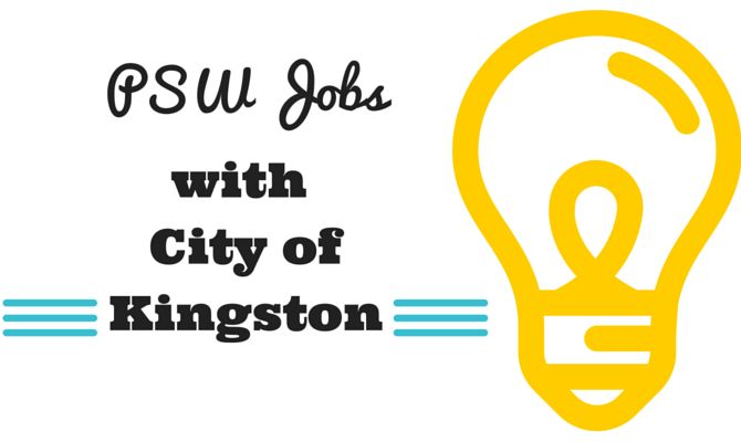 PSW Jobs with the City of Kingston, Ontario