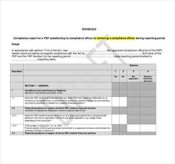 Handover Report Template – 15+ Free Word, PDF Documents Download ...