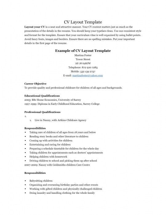 The Awesome Resume Example For Teenager   Resume Format Web