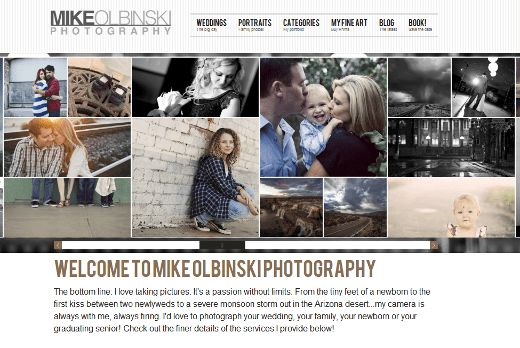 WordPress Themes for Photographers   9 Stunning Examples