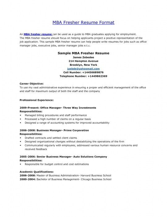 resume format for mba admission mba resume template 28 mba sample