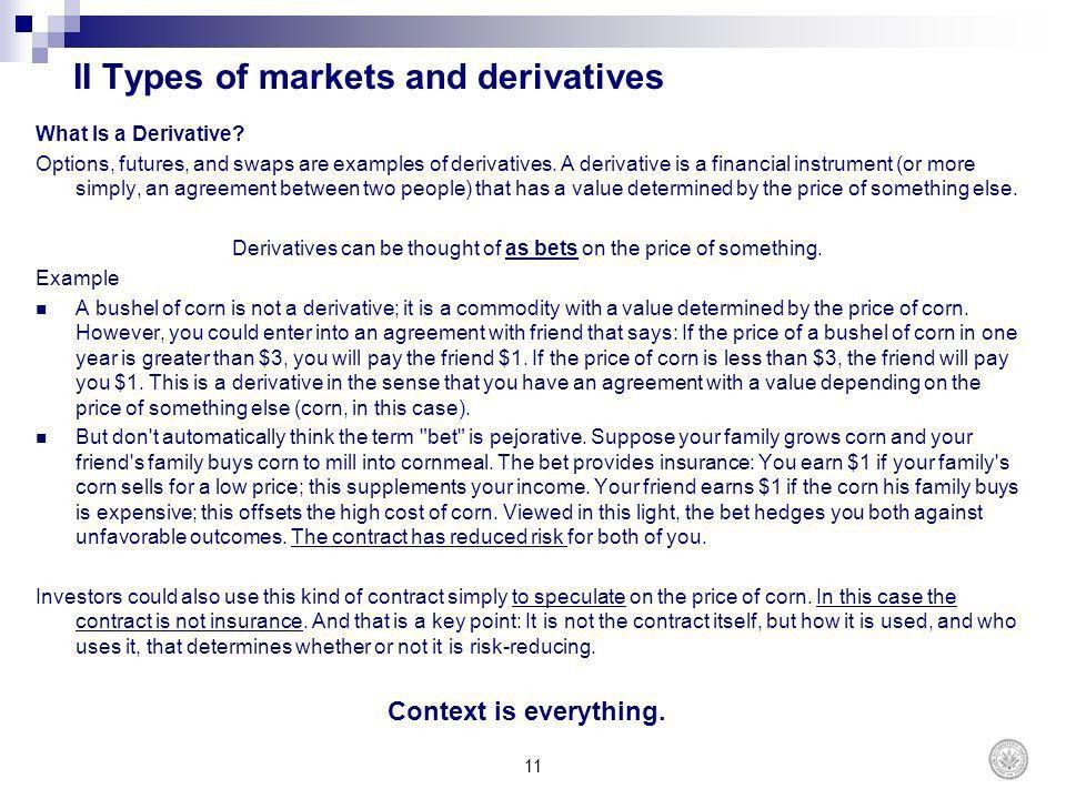 COURS TITLE Derivatives Markets - ppt download