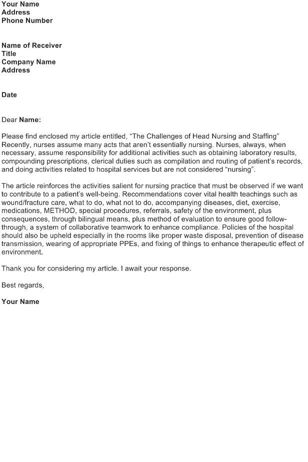 Transmittal Letter Template - Download FREE Business Letter ...