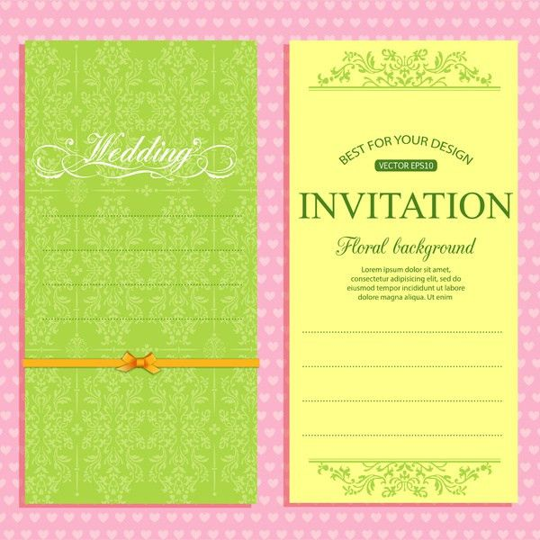 Free download wedding invitation designs free vector download ...