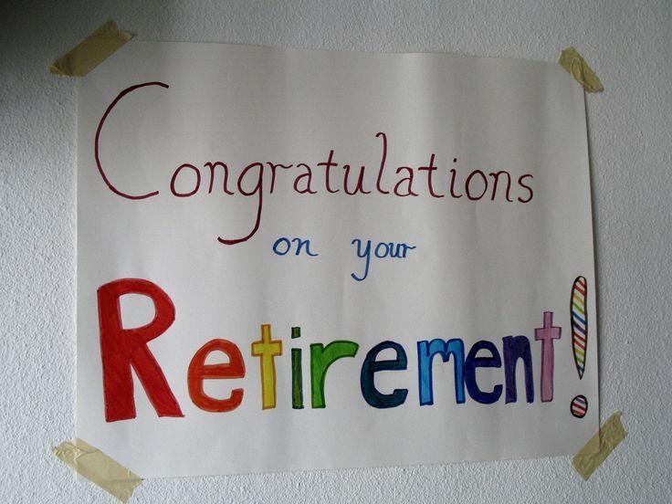 Best 25+ Congratulations on your retirement ideas on Pinterest ...