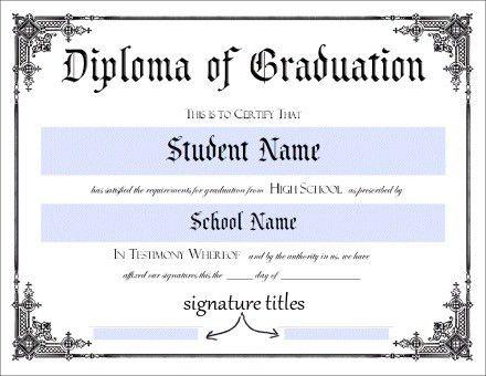 certificate template | Homeschool | Pinterest | Certificate ...