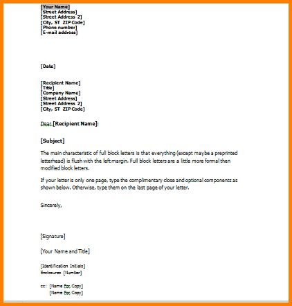 7+ business letter format with enclosure | quote templates