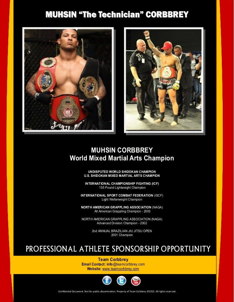 Professional Athlete   Sponsorship Proposal Package  Athlete Sponsorship Proposal Template