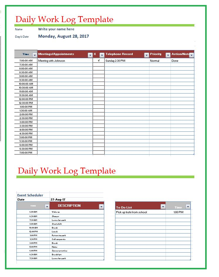 Free Word Templates