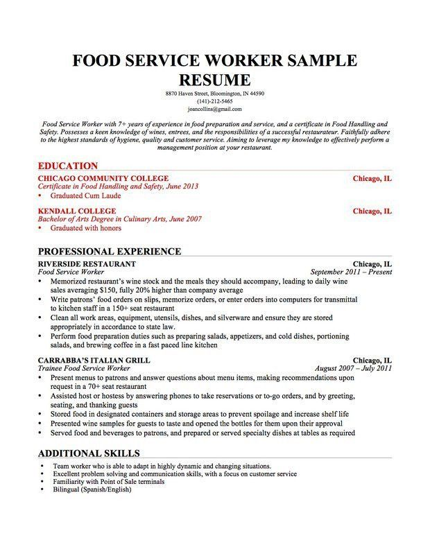 The Perfect Resume Template. Resume Examples Student Resume ...